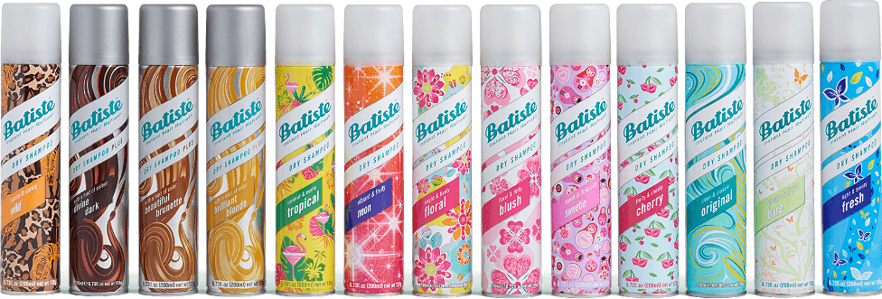 Types of Batiste Dry Shampoo